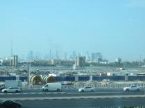 Breakfast view: Burj Khalifa!