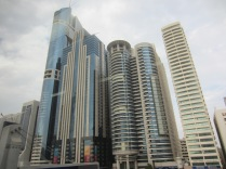 Just some skyscrapers in Dubai