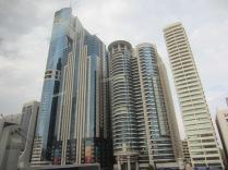 Just some skyscrapers in Dubai