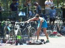 T2, bike to run